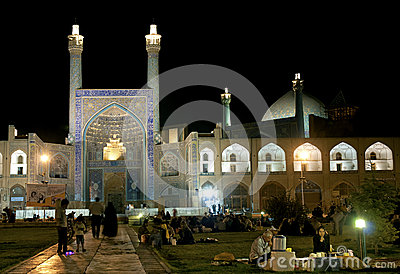 The imam mosque in isfahan iran Editorial Stock Photo