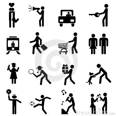 People pictogram