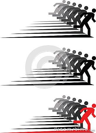 People run