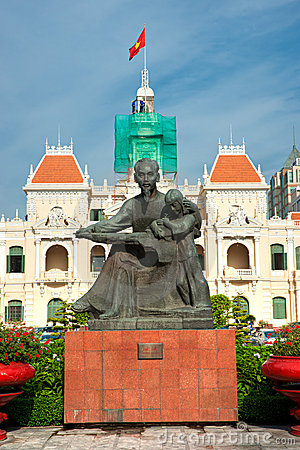 People s Committee building, Ho Chi Minh City.