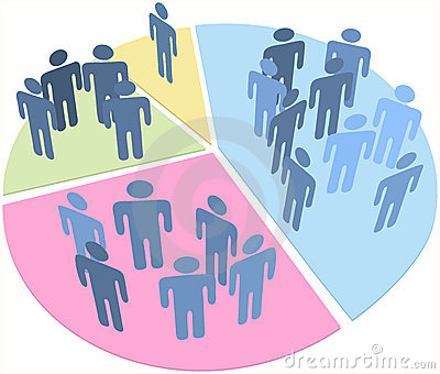 People Statistics Population Data Pie Chart Royalty Free Stock Photography - Image: 18548987