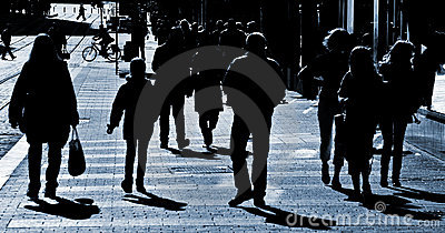 People at the street