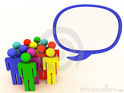People Talk Bubble Royalty Free Stock Photography - Image: 24254007