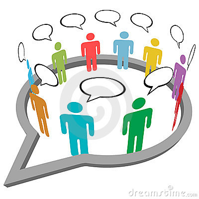 People talk meet inside social media speech