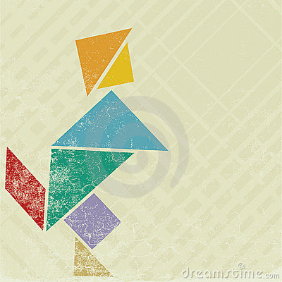 People tangram