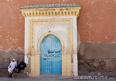 People in Taroudant Editorial Stock Photo