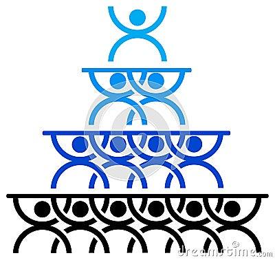 People triangle