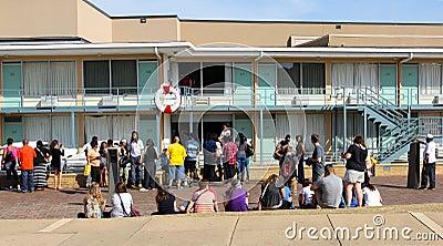 Lorraine Motel, Memphis Tennessee. Editorial Photo
