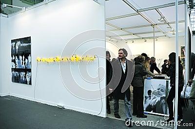 People Visiting Art Gallery Editorial Image