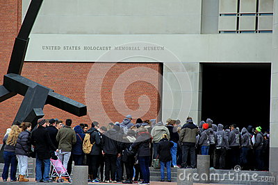 People Waiting In Line To Enter The United States ...