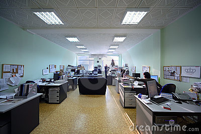 People work in an office in day-time Editorial Photography