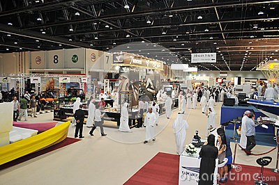 Peoples at Abu Dhabi International Hunting and Equestrian Exhibition (ADIHEX) Editorial Photography