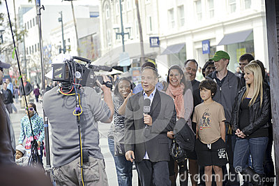 The peoples court harvey levin Editorial Stock Image