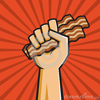Free Peoples Republic Of Bacon Royalty Free Stock Photography - 27061217