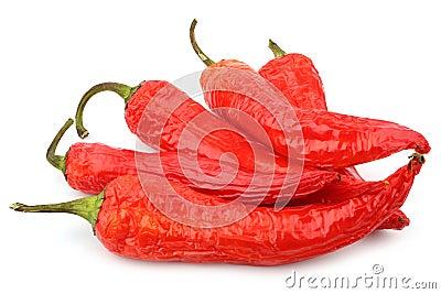 Pepe di peperoncini rossi rossi