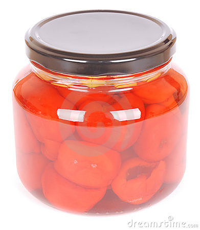 Pickled vegetables - peppadews