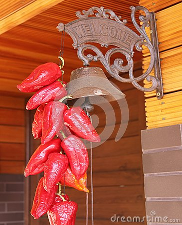 Red peppers and bell