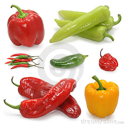Free Pepper Collection Stock Images - 4136614