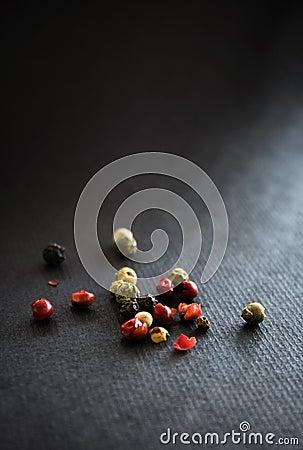 Pepper corn spice grains