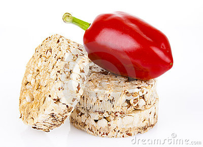 Pepper with dietary loaves of bran