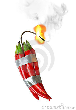 Free Pepper Dynamite Royalty Free Stock Images - 13264419