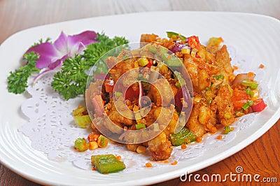 Pepper Fried Pork