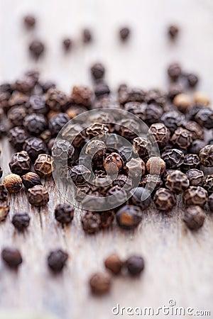 Pepper grains
