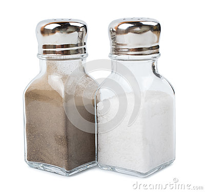 Free Pepper Ground And Salt Stock Photography - 76384792