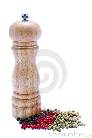 Free Pepper Mill Royalty Free Stock Photos - 18383688