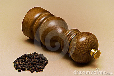 Pepper-mill and Grains