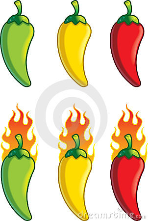 Free Pepper Temperature Royalty Free Stock Photos - 1952988