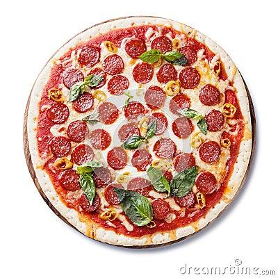 Pepperoni Pizza Royalty Free Stock Image - Image: 36179366