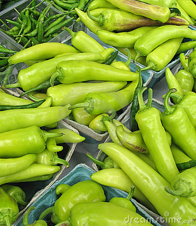 Peppers for sale at farmers  market