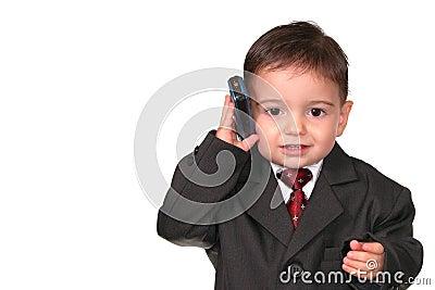 Pequeña serie del hombre: ¡Llamada en la línea una!