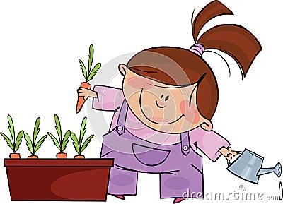 Pequeño jardinero