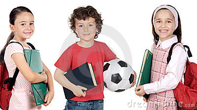 Pequeños estudiantes