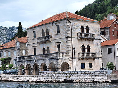 Perast, Montenegro Editorial Photography