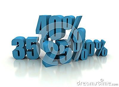 Percent - discount illustration