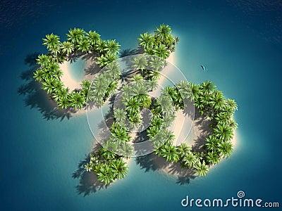 Percent island