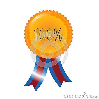 Percent medal