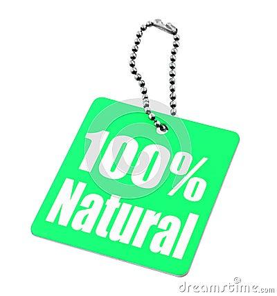 100 percent tag