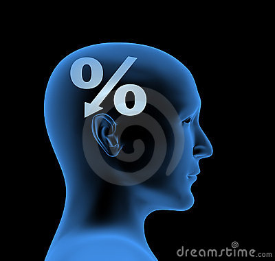 Percentage - an index of intelligence