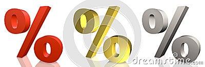 Percentage on sale