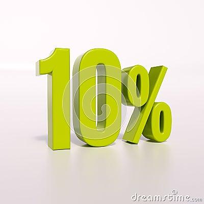 Free Percentage Sign, 10 Percent Royalty Free Stock Photos - 72178808