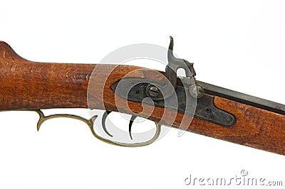 Percussion black powder rifle