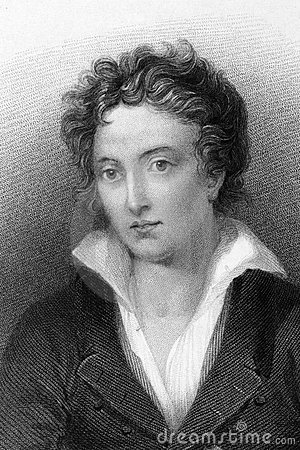 Percy Bysshe Shelley Editorial Image