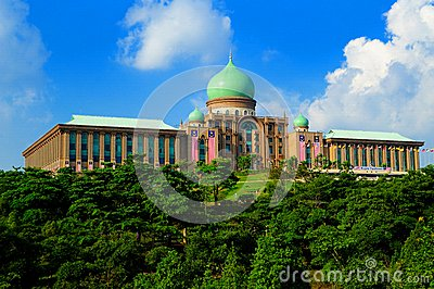 Perdana Putra Building Editorial Photography