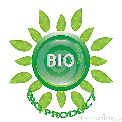 Perfect badge made for your bio products