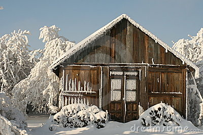Perfect cottage for christmas