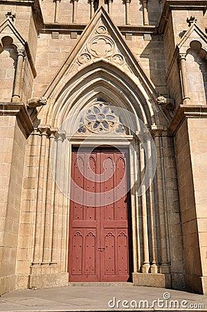 Perfect door of church